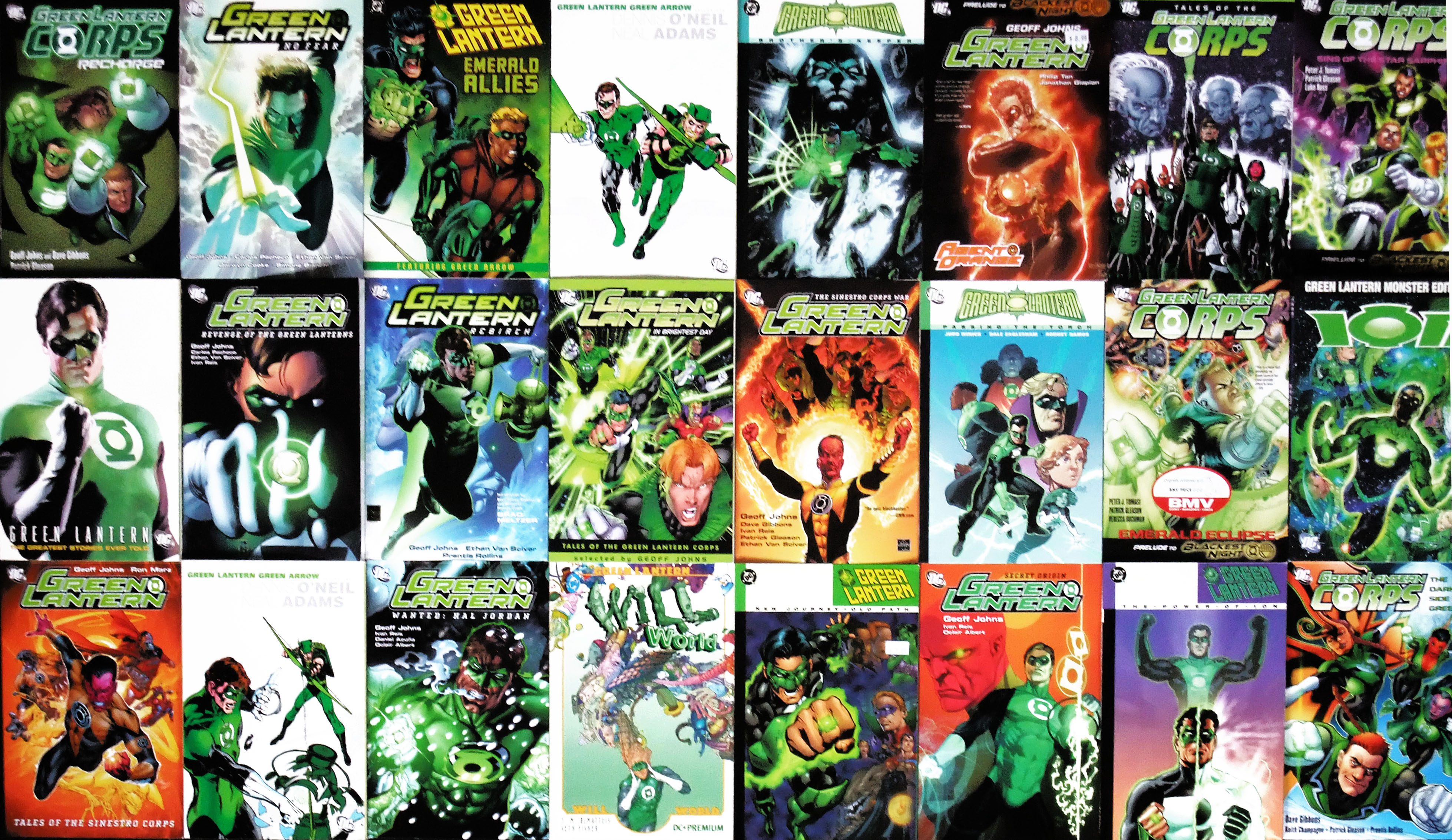 Green Lantern Mosaic Covers