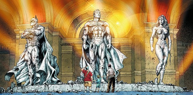 trinity 02 - Helden, Ikonen, Stützpfeiler - Superman, Batman und Wonder Woman sind die großen Drei im DC-Verlag