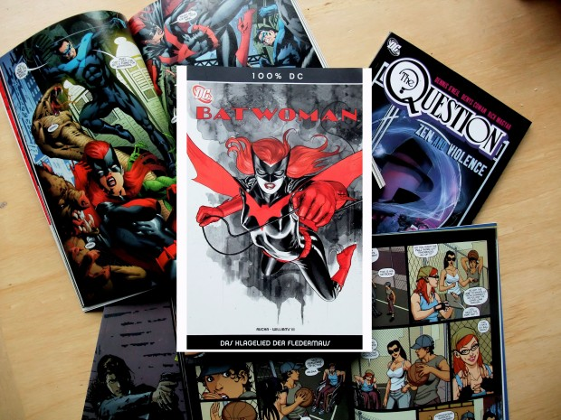 Wordpress Kate Kane Renee Montoya Greg Rucka The Question Batwoman
