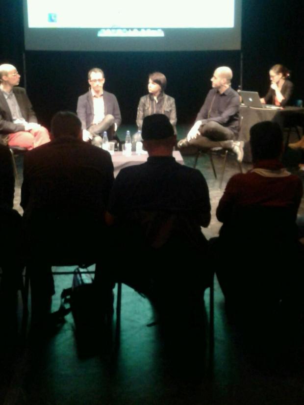 Guido Graf, Alexander Vieß, Karla Paul, Stefan Mesch, Lew Weisz... Foto von Clara Ehrenwerth