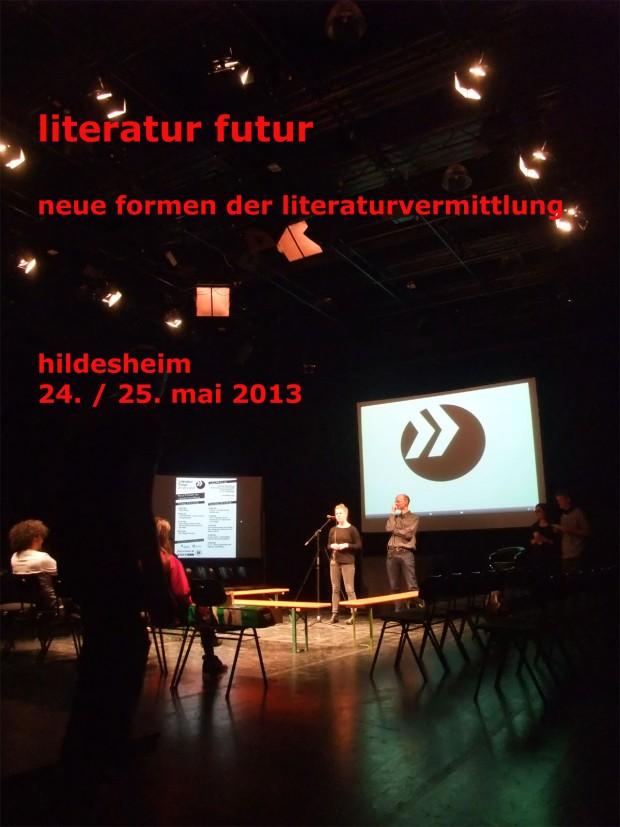 litfutur - neue formen der literaturvermittlung, hildesheim