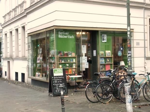 Berliner Büchertisch, Gneisenaustraße