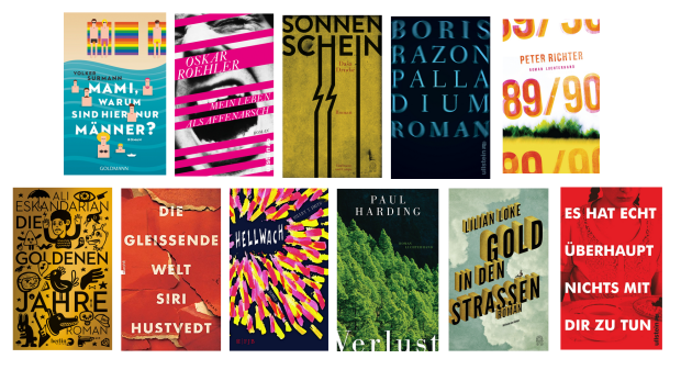 buchcover 2015 - lieblingscover. bold typography, popping colors. my personal favorites.