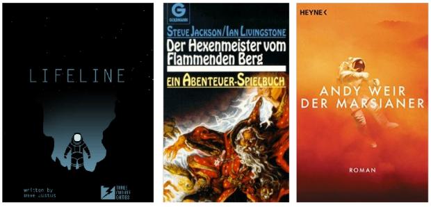 lifeline the martian abenteuerspielbuch textadventure
