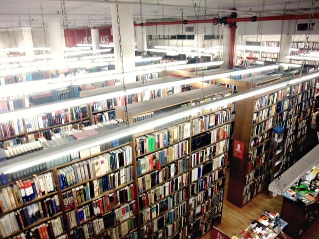 neue Bücher 2016 - Foto Strand Bookstore, New York