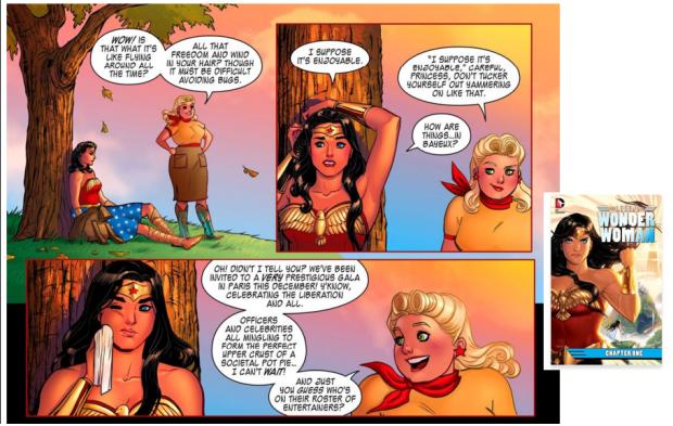 Batman v Superman, Legend of Wonder Woman