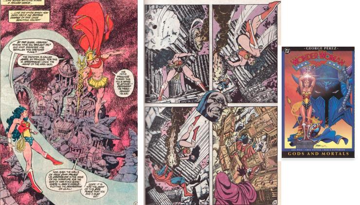 Batman v Superman, Wonder Woman Perez