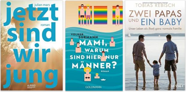 schwule neue bücher, Tobias Rebisch, Julian Mars, Volker Surmann