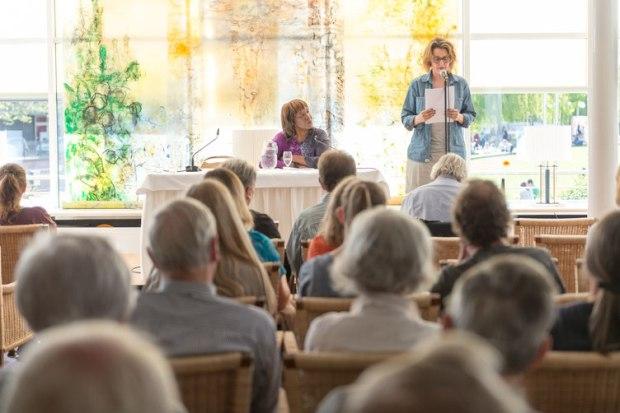Sprachsalz Literaturfestival Pforzheim, Lesung Patricia Smith, Foto von Denis Mörgenthaler