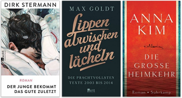 Dirk Stermann, Max Goldt, Anna Kim