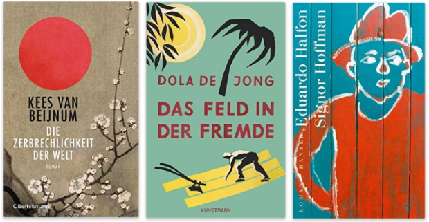 Kees van Beijnum, Dola de Jong, Eduardo Halfon