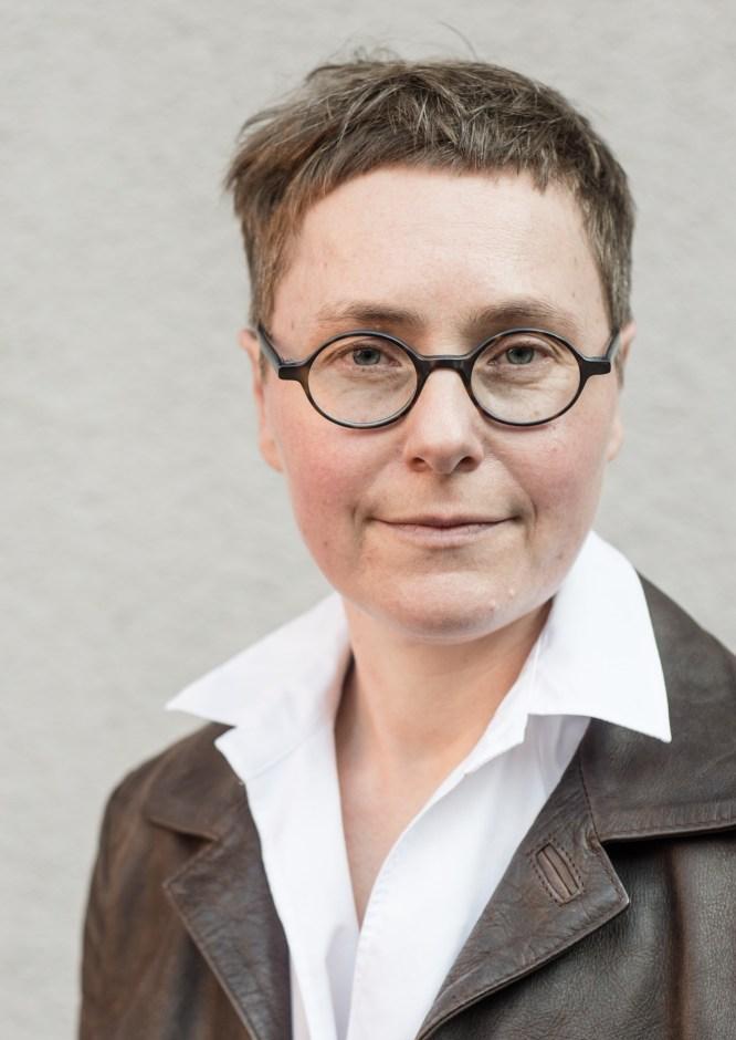 Dr. Angela Steidele. Foto: Ben Chislett, Matthes und Seitz