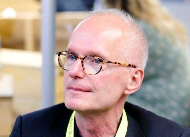 Journalist und Autor Hans Hütt, 2016