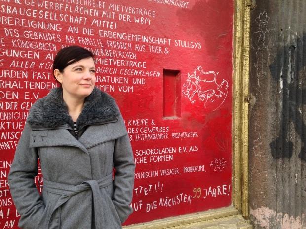 """Katy Derbyshire - Übersetzerin, Bloggerin und, beim Festival """"Empfindlichkeiten"""", deutsche Vorlesestimme der internationalen Gäste"""