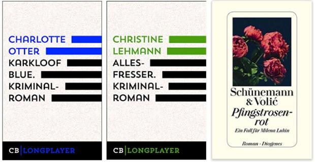 krimis 2016, Charlotte Otter, Christine Lehmann, Schünemann Volic