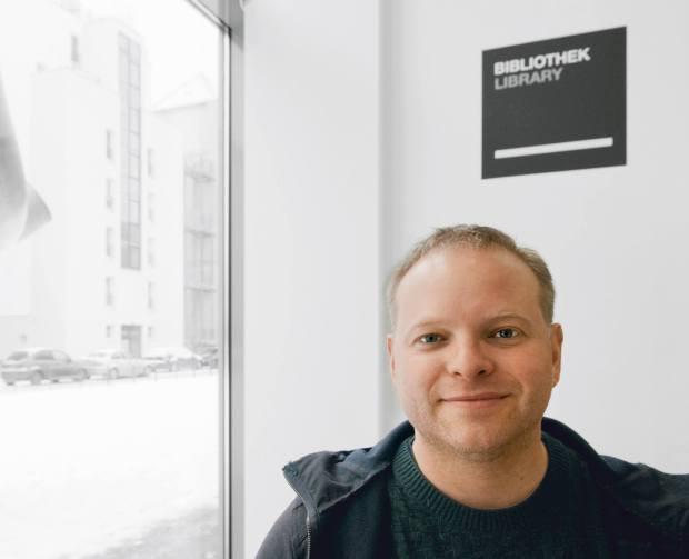 Kristof Magnusson, Foto von Gunnar Klack
