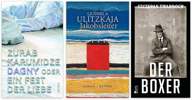 neue Bücher 2017 Zurab Karumidze, Ljudmila Ulitzkaja, Szczepan Twardoch