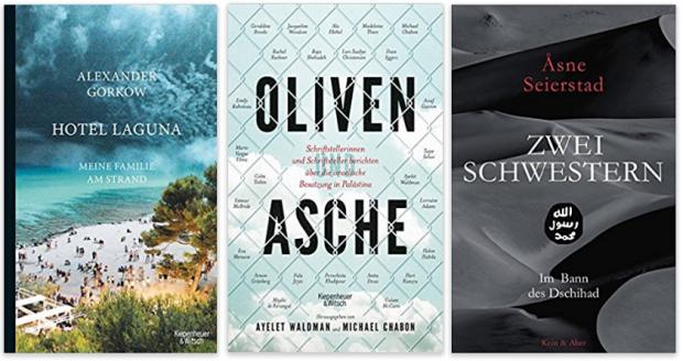 neue Sachbücher 2017 Alexander Gorkow, Ayelet Walman und Michael Chabon, Asne Seierstad