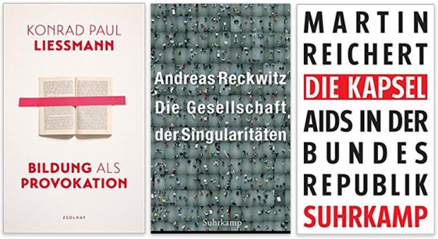 neue Sachbücher 2017 Konrad Paul Liessmann, Andreas Reckwitz, Martin Reichert