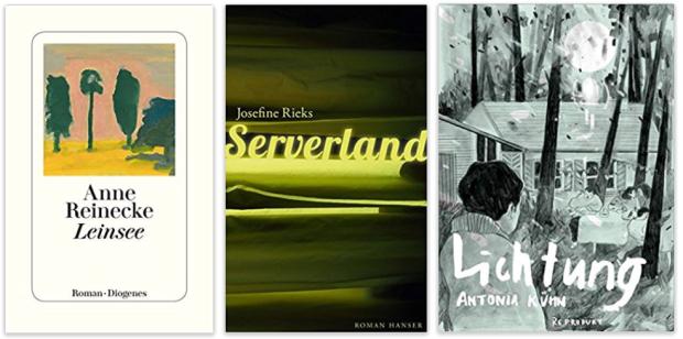 Literatur 2018 Anne Reinecke, Josefine Rieks, Antonia Kühn