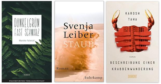 Literatur 2018 Mareike Fallwickl, Svenja Leiber, Karosh Taha