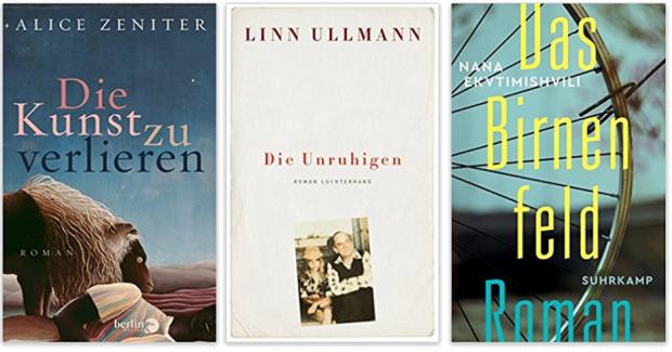 neue Bücher 2018 Alice Zeniter, Linn Ullmann, Nana Ekvtimishvli