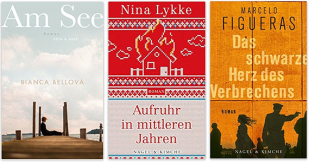 neue Bücher 2018 Bianca Bellova, Nina Lykke, Marcelo Figueras