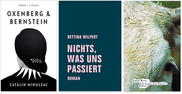 neue Bücher 2018 Catalin Mihuleac, Bettina Wilpert, Noelle Revaz