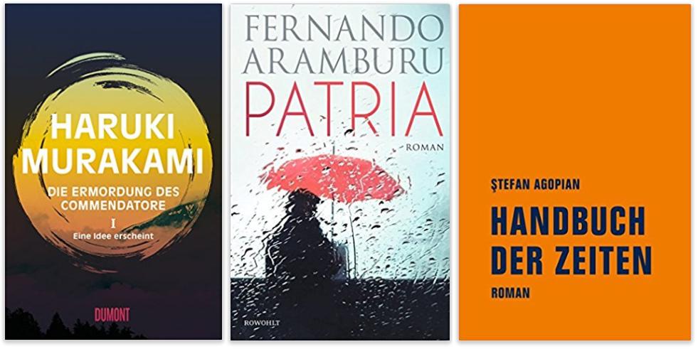 Neue Bucher  Haruki Murakami Fernando Aramburu Stefan Agopian Png