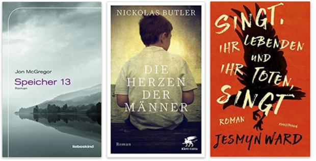 neue Bücher 2018 Jon McGregor, Nickolas Butler, Jesmyn Ward