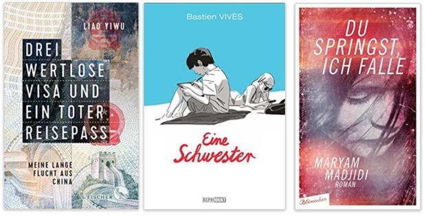 neue Bücher 2018 Laio Yiwu, Barien Vives, Maryam Madjidi