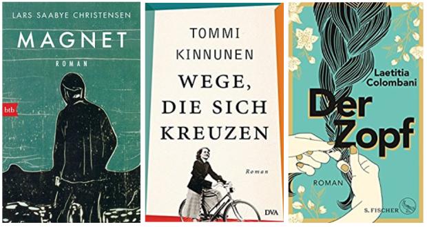neue Bücher 2018 Lars Saabye Christensen, Tommi Kinnunen, Laetititia Colombani