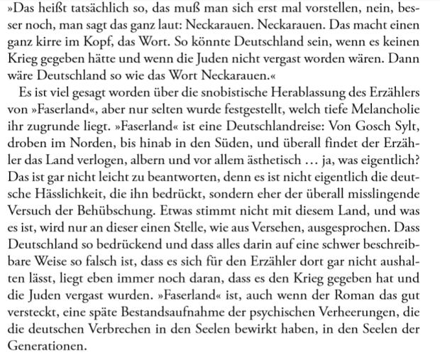 Daniel Kehlmann Faserland