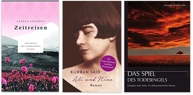 Georgien georgische literatur Angela Steidele Kurban Said, Das Spiel des Todesengels