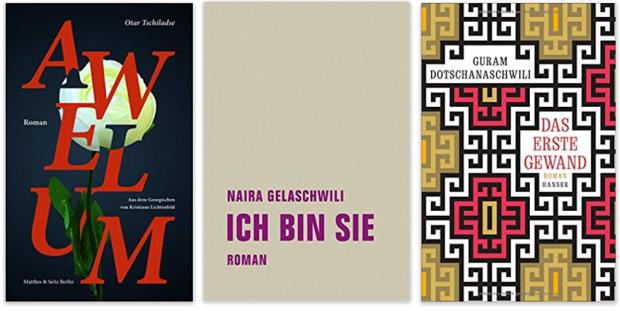 Georgien georgische literatur Awelum, Ich bin sie, Das erste Gewand
