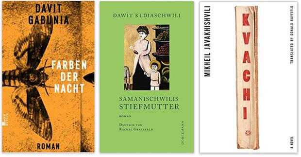 Georgien georgische literatur Gabunia Farben der Nacht, Samanischwilis Stiefmutter, Kvachi
