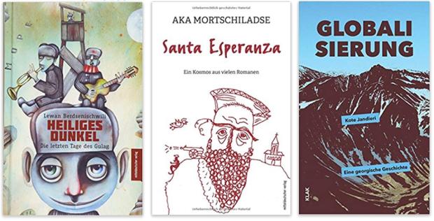 Georgien georgische literatur Heiliges Dunkel, Santa Esperanza, Globalisierung