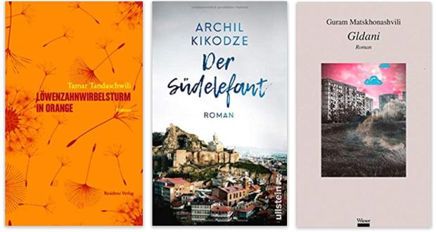 Georgien georgische literatur Löwenzahnwirbelsturm in Orange, Der Südelefant, Gldani
