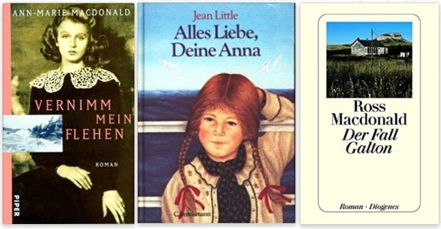 #canadaFBM2020 Buchmesse Ehrengast - beste Bücher kanadische Literatur CanLit - Ann-Marie MacDonald, Jean Little, Ross Macdonald
