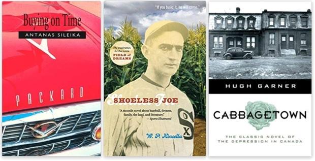 #canadaFBM2020 Buchmesse Ehrengast - beste Bücher kanadische Literatur CanLit - Antanas Sileika, W. P. Kinsella, Hugh Garner