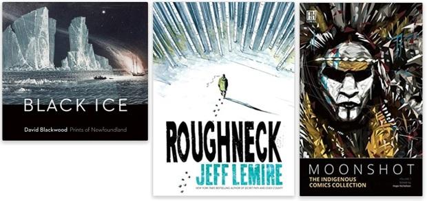 #canadaFBM2020 Buchmesse Ehrengast - beste Bücher kanadische Literatur CanLit - David Blackwood, Jeff Lemire, Hope Nicholson