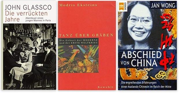 #canadaFBM2020 Buchmesse Ehrengast - beste Bücher kanadische Literatur CanLit - John Glassco, Modris Eksteins, Jan Wong
