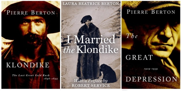 #canadaFBM2020 Buchmesse Ehrengast - beste Bücher kanadische Literatur CanLit - Pierre Berton Klondike, Gread Depression, Laura Beatrice Berton