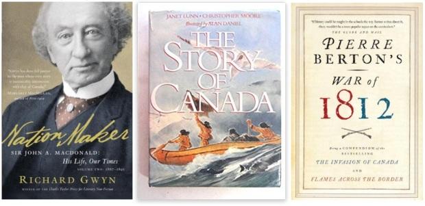#canadaFBM2020 Buchmesse Ehrengast - beste Bücher kanadische Literatur CanLit - Richard Gwyn, Janet Lunn, Pierre Berton 1812