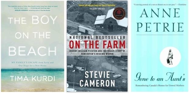 #canadaFBM2020 Buchmesse Ehrengast - beste Bücher kanadische Literatur CanLit - Tima Kurdi, Stevie Cameron, Anne Petrie
