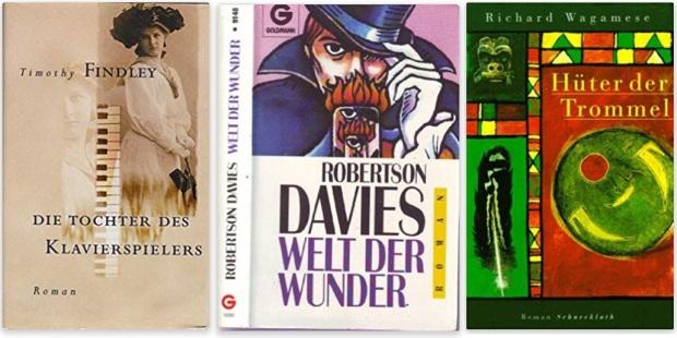 #canadaFBM2020 Buchmesse Ehrengast - beste Bücher kanadische Literatur CanLit - Timothy Findley, Robertson Davies, Richard Wagamese