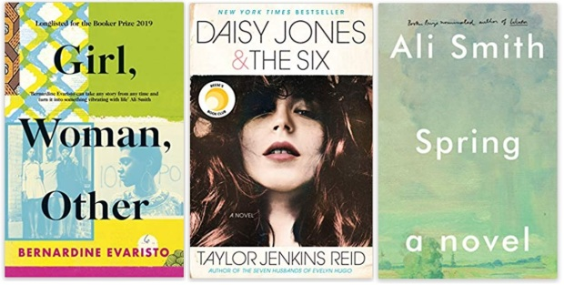 01 Diversity Literature 2019 Bernardine Evaristo, Taylor Jenkins Reid, Ali Smith