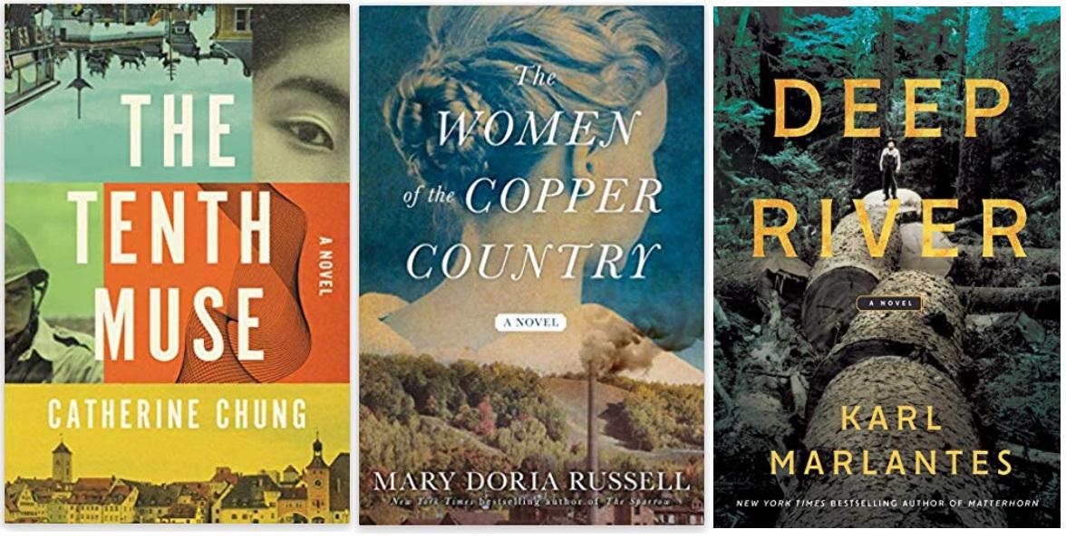 02 Diversity Literature 2019 Catherine Chung, Mary Doria Russell, Karl Marlantes