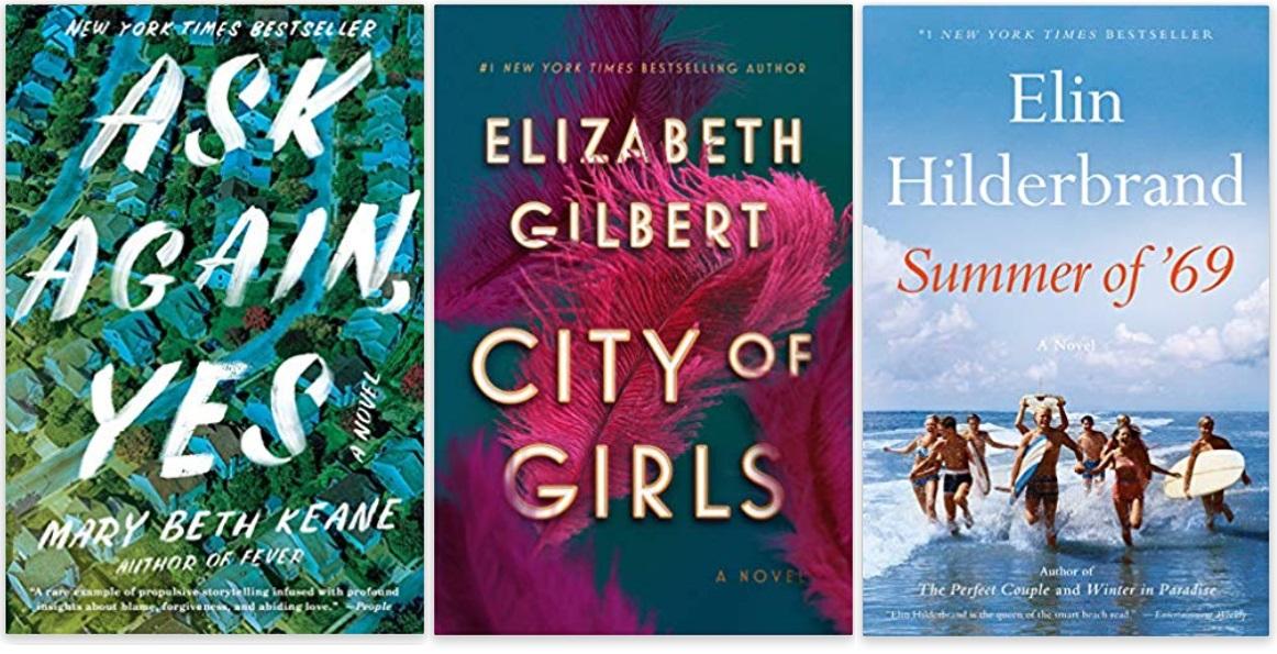 03 Diversity Literature 2019 Mary Beth Keane, Elizabeth Gilbert, Elin Hilderbrand