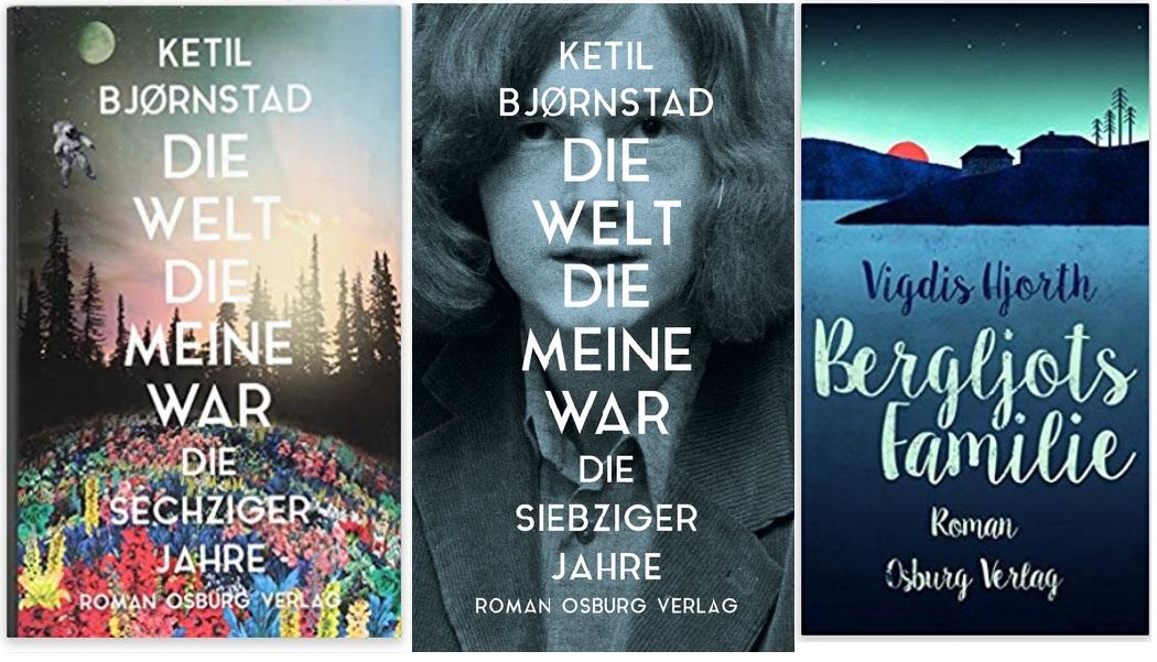04 Norwegen Gastland Ehrengast Frankfurter Buchmesse 2019 - Ketil Bjornstad Die Welt, die meine War, Vigdis Hjorth Bergljots Familie